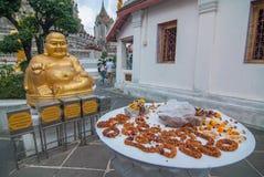 Большая статуя Будды в Wat Arun Стоковое Изображение RF