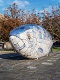 Большая статуя рыб в Белфасте, северном Irelnad Стоковая Фотография