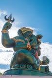 Большая статуя Ganesha и индусский бог, Таиланд, отростчатый цвет Стоковые Фото