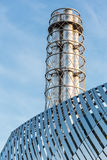 Большая сталь печной трубы Стоковая Фотография