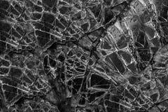 Большая стеклянная сломанная форточка стоковая фотография rf