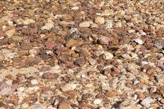 Большая текстура камней Стоковое Фото
