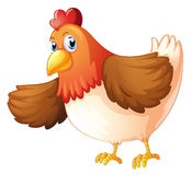 Большая тучная курица Стоковые Изображения
