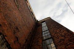 Большая угловая съемка промышленного здания Стоковые Фото