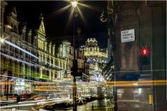 Большая улица ветрянки Стоковая Фотография