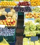 Большая фруктовая лавка Стоковая Фотография