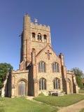 Большая церковь Tey, Essex, Англия Стоковое Фото