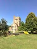 Большая церковь Tey, Essex, Англия Стоковые Фотографии RF