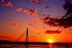 Большая часть в восходе солнца стоковые изображения rf
