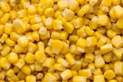 Большая часть желтой текстуры зерен мозоли Стоковые Изображения RF