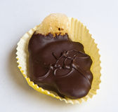 Шоколад покрыл candied имбирь Стоковые Изображения