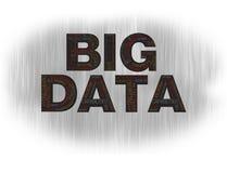 Большая чернота данных Стоковые Фотографии RF