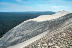 Большая дюна Pyla Стоковое Изображение