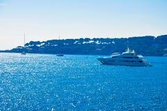 Большая яхта Стоковые Фотографии RF