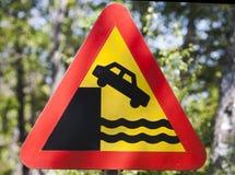 больше моего знака портфолио подписывает предупреждение Стоковая Фотография