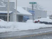 Больше снега на снеге Стоковая Фотография RF