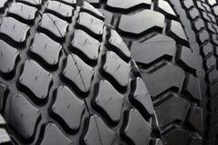 Большие автошины колеса тележки Стоковая Фотография RF