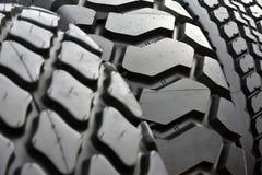 Большие автошины колеса тележки Стоковая Фотография