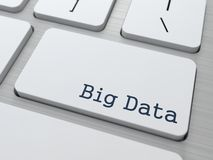 Большие данные. Принципиальная схема информации. Стоковая Фотография