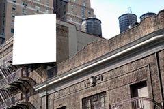 Большие афиша и цистерны с водой Стоковая Фотография