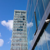 Большие административные здания Стоковая Фотография RF