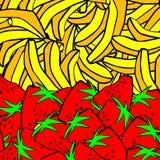 Большие бананы кучи Стоковые Изображения RF