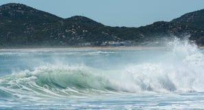 большие волны стоковое изображение