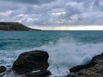 большие волны Стоковые Изображения