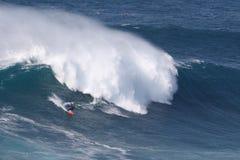 Большие волны @ Nazaré 2016 10 24 Стоковая Фотография
