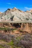 большие горы горы ландшафта каньон Стоковое Изображение RF