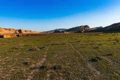 большие горы горы ландшафта каньон Стоковые Фотографии RF