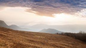 большие горы горы ландшафта Стоковые Фото