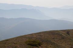 большие горы горы ландшафта Стоковые Изображения RF