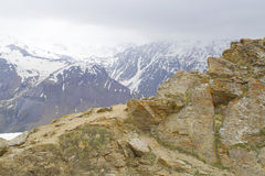 большие горы горы ландшафта Стоковое Изображение RF