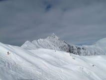 большие горы горы ландшафта Стоковое фото RF