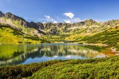 большие горы горы ландшафта Стоковое Фото