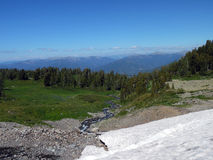 большие горы горы ландшафта Стоковые Изображения