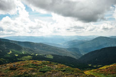 большие горы горы ландшафта стоковая фотография rf