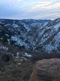 Большие горы скалистых гор в Денвере Колорадо Стоковая Фотография