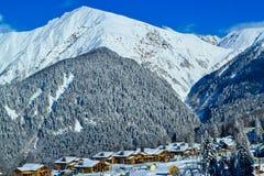 большие горы Стоковая Фотография