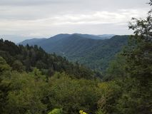 Большие закоптелые горы Стоковые Фотографии RF