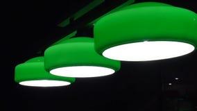 Большие зеленые лампы Hd акции видеоматериалы