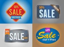 Большие значки продажи Стоковая Фотография RF