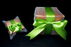 Большие и малые подарки Стоковое фото RF