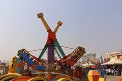 Большие качания/гигантские катят внутри Surajkund Стоковое Изображение RF