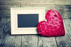 Большие красные сердце и классн классный Стоковое Фото