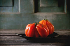 Большие красные томаты RAF Стоковые Фотографии RF