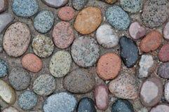 Большие красочные камешки Стоковое фото RF