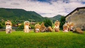 Большие куклы starw семьи фермеров стоковые изображения