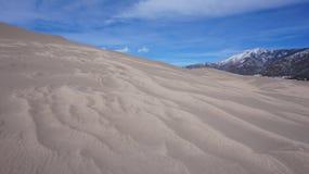 Большие национальный парк песчанных дюн и заповедник, Колорадо Стоковая Фотография RF